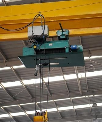 LDY Single Girder Overhead Crane , Metallurgical Indoor Overhead Crane